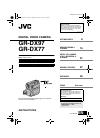 JVC GR-DX77US Instructions manual