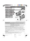JVC GR-FX16 Operation & user's manual