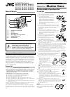 JVC 0899FOV*UN*AP Operation & User's Manual 12 pages