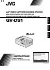 JVC GV-DS1DU Instructions Manual 68 pages
