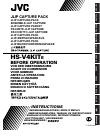 JVC HS-V4KIT Instructions Manual 224 pages
