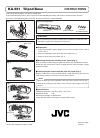JVC KA-551 Instructions 1 pages