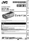 JVC GS-TD1BUS Operation & user's manual