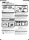 JVC KS-AX3300 Instructions 2 pages