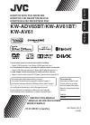 JVC KW-AV61BT Instruction Manual 93 pages