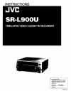 JVC SR-L910UA - 24 Hour Time Lapse Vcr Instructions Manual 12 pages