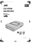 JVC CU-VD40AA Instructions Manual 56 pages