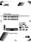 JVC HR-XV38SAG Instructions Manual 72 pages