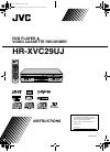 JVC HR-XVC29UJ Instructions Manual 88 pages