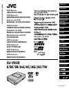 JVC CU-VD20AC Instructions Manual 136 pages
