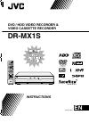 JVC 1204MNH-SW-VE Instructions Manual 100 pages