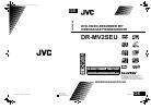 JVC DR-MV2SEU Bedienungsanleitung 76 pages