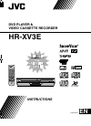 JVC HR-XV3E Instructions Manual 84 pages
