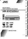 JVC HR-XVC32SUJ Instruction Manual 40 pages