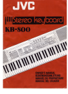 JVC KB-800 Owner's Manual 20 pages