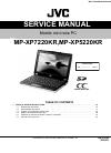 JVC MP-XP5220KR Service Manual 10 pages