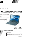 JVC MP-XP5230GB Instructions Manual 126 pages