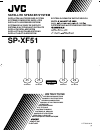 JVC SP-XF51 Instructions 5 pages