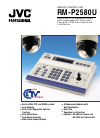 JVC RM-P2580U Product Overview And Specifications 4 pages