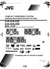 JVC Compact Component System CA-DXJ20