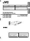 JVC LD-HD1KE Instruction Manual 28 pages