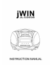 jWIN JL-CD808 Instruction Manual 9 pages