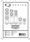 KEF iQ90 Installation Manual 12 pages