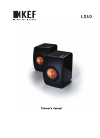 KEF LS50 Owner's Manual 7 pages