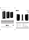 KEF Wireless System Installation Manual 8 pages