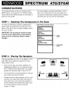 Kenwood CT-201 Connection Manual 4 pages
