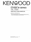 Kenwood CT-203 Instruction Manual 28 pages