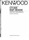 Kenwood KXF-W4030 Instruction Manual 27 pages