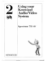 Kenwood KX-W595 Operation & User's Manual 44 pages