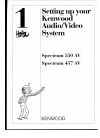 Kenwood KX-W595 Install Manual 28 pages
