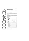 Kenwood KX-W6060 Instruction Manual 20 pages