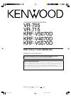 Kenwood KRF-V4070D