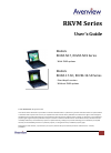 Avenview RKVM-19-SD Operation & User's Manual 25 pages