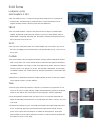 Bowers & Wilkins C100 Specification Sheet 3 pages