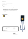 Bowers & Wilkins CDM 2 SE Specifications 1 pages