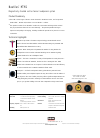 Bowers & Wilkins Nautilus HTM1 Specifications 1 pages