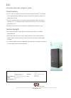Bowers & Wilkins 202i Specification Sheet 1 pages