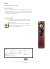 Bowers & Wilkins CDM7 Specification 1 pages