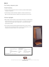 Bowers & Wilkins DM16 Specification 1 pages