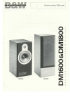 Bowers & Wilkins DM1600 Instruction Manual 5 pages