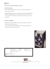 Bowers & Wilkins DM220 Specifications 1 pages