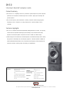 Bowers & Wilkins DM310 Specifications 1 pages