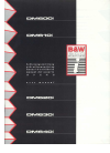 Bowers & Wilkins DM610i Operation & User's Manual 5 pages