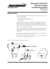 Bacharach Flue-Gas Sample Conditioning System