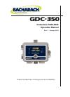 Bacharach GDC-350