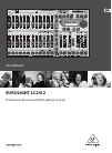 Behringer EUROLIGHT LC2412 Operation & User's Manual 26 pages